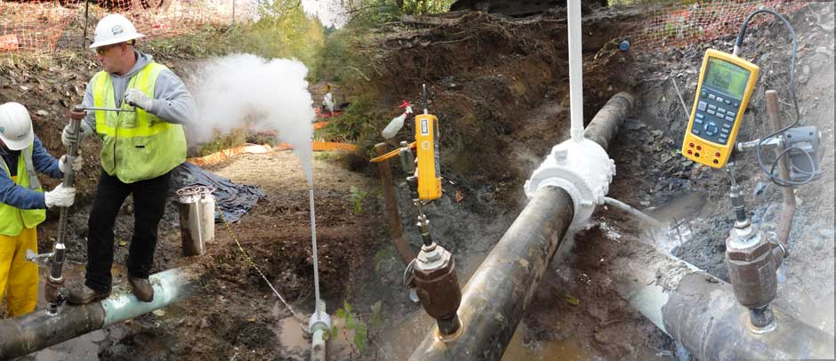 Natural Gas Pipeline Freezing