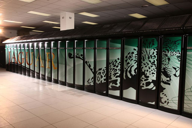 XT5 Cray Jaguar Super Computer Job Site